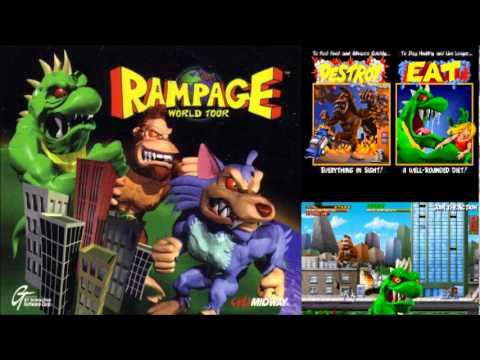 Prime Vgm 106 Rampage World Tour Ralph Extended Youtube