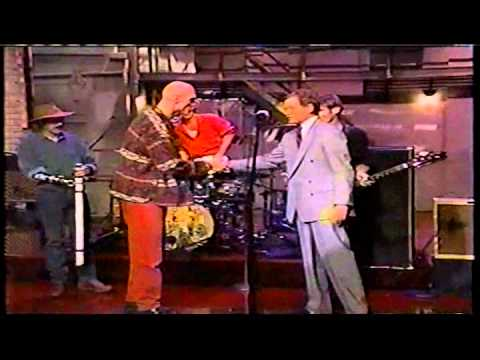 Midnight Oil Live - David Letterman
