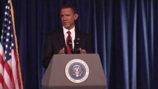 Steve Bridges as President Obama - January 2010 - Pt 2