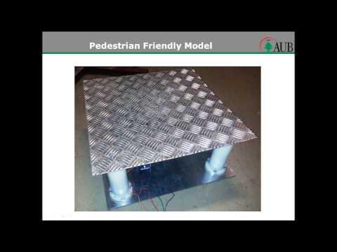 Pedestrian Energy Converter