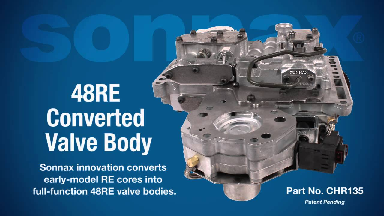 Sonnax 48RE Converted Valve Body  YouTube