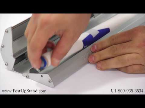 How to Adjust the Tension in Your Table Top Display