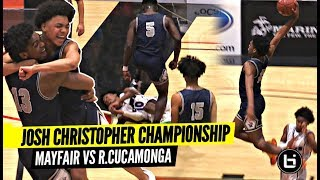 Josh Christopher GETS TESTED In Championship Game!! CRAZY 2nd Half! Josh Becomes LEGEND!
