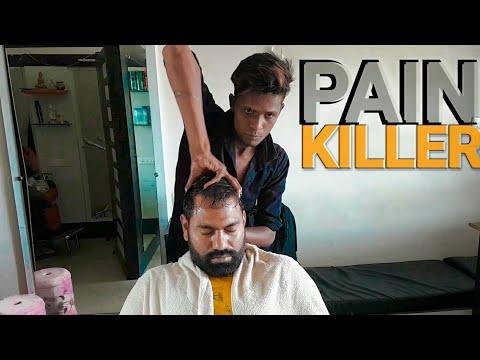 Asmr painkiller Head massage .