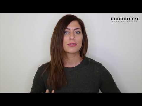 Verpfuschte Augenbrauen durch Permanent make up werden von Wahid Rahimi  korrigiert.