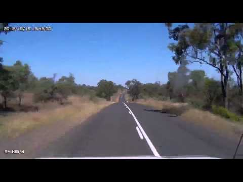 Video 353 - Capricorn Highway - Hannams Gap Lookout to Glenalva Fossicking T/O