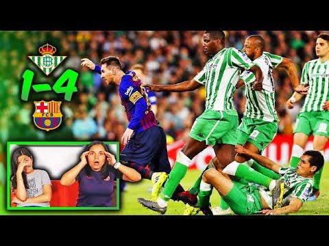 ¡MESSI ESTÁ LOCO! Reacción al BETIS vs BARCELONA de La Liga (1-4) | Dúo Dinámico