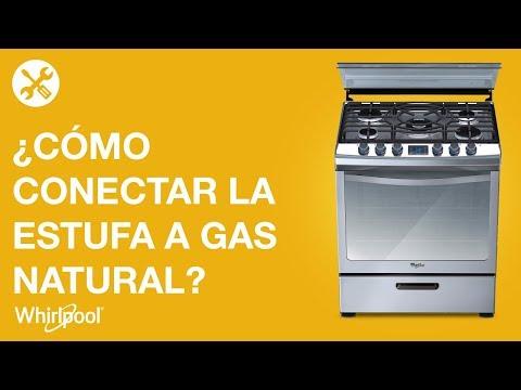 Estufas whirlpool c mo conectar tu estufa a gas natural - Radiadores para gas natural ...