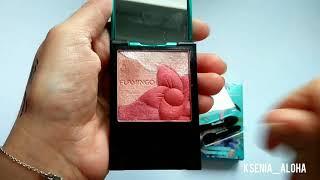 Обзор и макияж с косметикой FLAMINGO с aliexpress