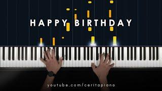 Ten2Five - Happy Birthday (Piano Tutorial)