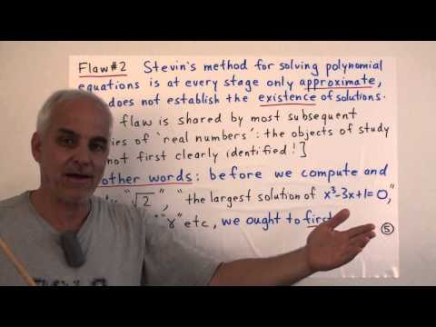 FamousMathProbs19c: Stevin numbers, infinitesimals and complex numbers