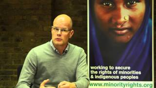 Interview with Minority Rights Group Director of Policy and Commnunications