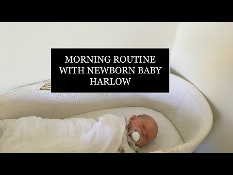 REBORN MORNING ROUTINE WITH NEWBORN HARLOW