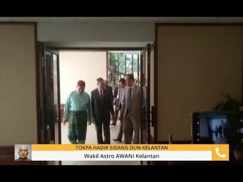 Tok Pa hadir sidang DUN Kelantan