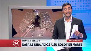 Comentario de Ciencia y Tecnología: Nasa le dice adiós a su robot en Marte