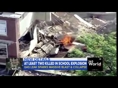 School Building Collapsed Newyork Yesterday | 365 World News