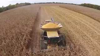 TK FARMS HARVEST 2014 Darke Co Ohio