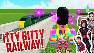 TINY TOY TRAINS! Roblox Itty Bitty Railway