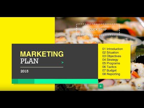 Template for Marketing Plan Presentation - YouTube