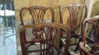 Refinishing Baker Furniture  At Timeless Arts Refinishing