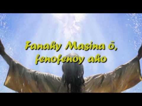 Fanahy masina - Rija Rasolondraibe (tononkira)
