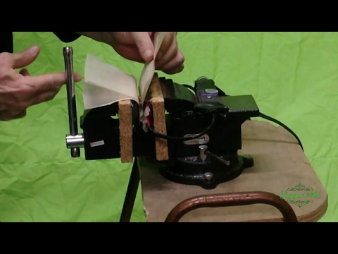 Rosin Press: How to use a Diy bench vice Rosin press