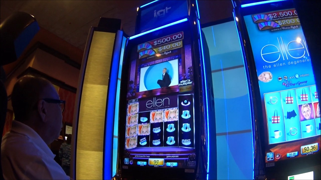 Ellen Degeneres Slot Machines At