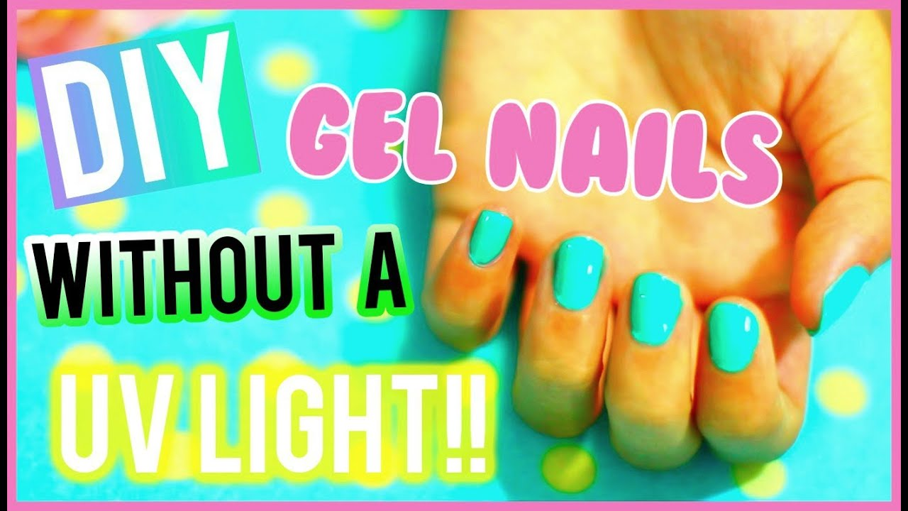 Diy gel nails without a uv light youtube diy gel nails without a uv light solutioingenieria Gallery