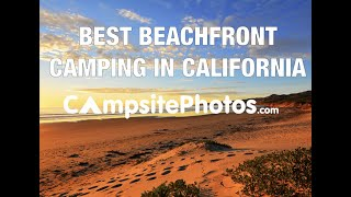 Best Beachfront Camping iฑ California