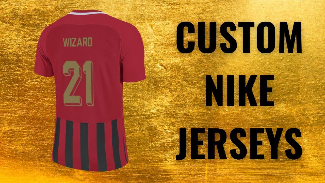 How To Make Custom Nike By You Football Shirts