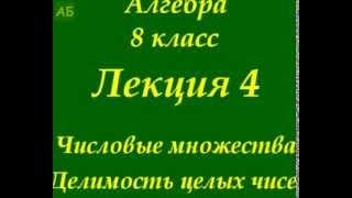 Алгебра. 8 класс. Лекция 4