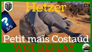 [WoT/FR] Hetzer - Petit mais Costaud - World of Tanks 4K (français)
