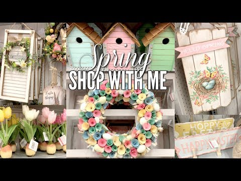 MICHAEL'S SHOP WITH ME 2019 // EASTER AND SPRING HOME DECOR