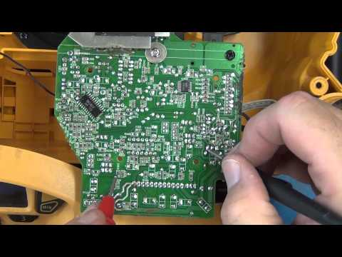 Repair DeWalt Radio Part 2 of 2