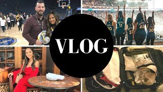 VLOG: San Francisco With Shopstyle, Warriors Game, Packing a Carry-on and MORE!!