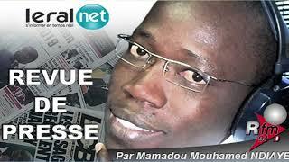 REVUE DE PRESSE RFM WOLOF DU VENDREDI 13 DECEMBRE 2019 - MAMADOU MOUHAMED NDIAYE