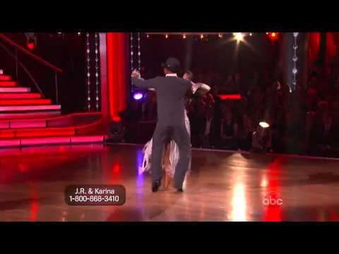 JR Martinez and Karina Smirnoff Quickstep