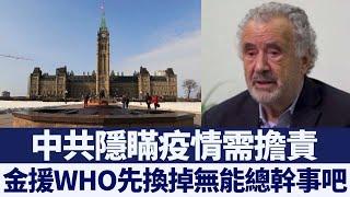 加前參議員:中共隱瞞疫情需擔責|新唐人亞太電視|20200428