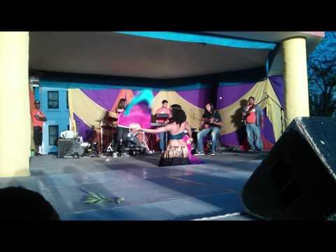 DEBUT in BELIZE Bellydance Video Street Art Festival