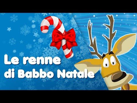 BUON NATALE - Le renne di babbo Natale  - Canzoni per bambini di Mela Music