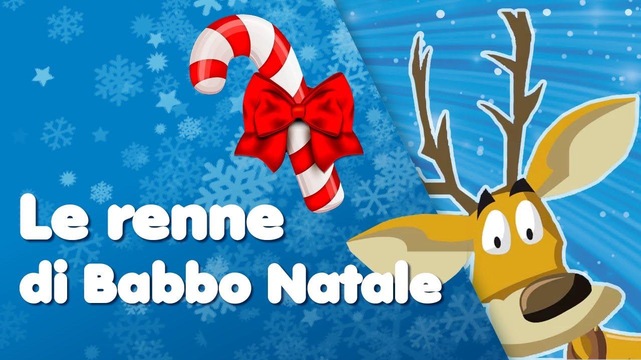 Buon Natale Buon Natale Canzone.Buon Natale Le Renne Di Babbo Natale Canzoni Per Bambini Di Mela