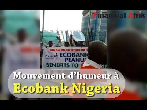 Mouvement D'humeur à Ecobank Nigeria