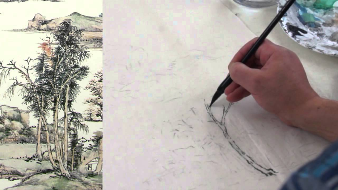 Henry's Chinese Painting Class Lesson 28 Gongbi Landscape Painting  Introduction