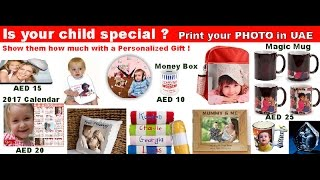 Personalized gifts suppliers in dubai - UAE. T-shirts printing and more