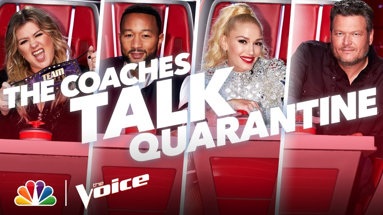 Blake, Gwen, John and Kelly Share Their Quarantine Routines - The Voice 2020