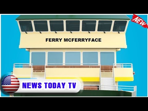 Ferry mcferryface: meet boaty mcboatface's australian cousin| NEWS TODAY TV