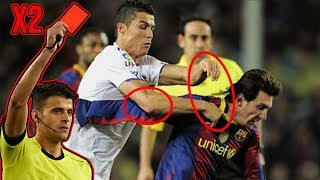 Famous Players Fight - Football Fights Moments 2019 (Ronaldo, Messi, Neymar...)