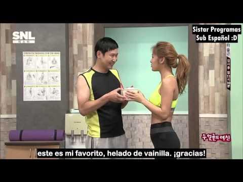 (140920) SNL KOREA - SISTAR (Soyou) - ''Las 2 Caras De Mi Novia'' (Sub Español)