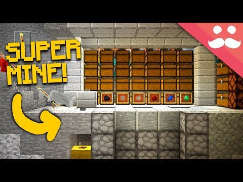 Making The BEST MINE SHAFT In Minecraft 1.13!