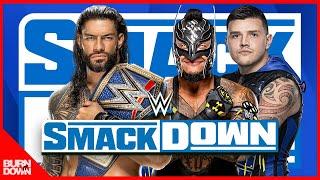 WWE ROMAN REIGNS VS REY MYSTERIO & DOMINIK MYSTERIO